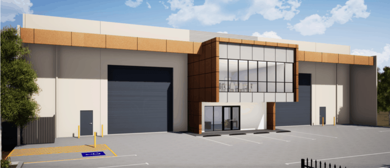Rendered Image of Design And Construct Workshop, Bassendean, Perth